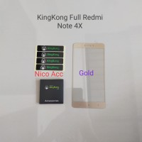 Xiaomi Redmi Note 4X KingKong Tempered Glass Full Cover