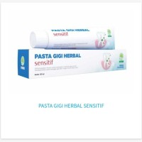 Pasta Gigi Sensitif Herbal