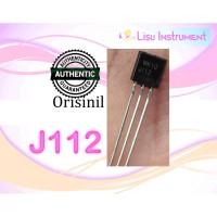 ORIGINAL J112 JFET N-Channel Chopper Transistors TO92 ON Semiconductor