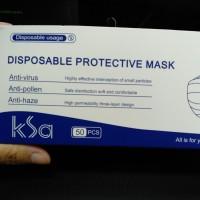 Disposable Protective Mask 3ply sertifikasi FDA