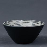 Mangkok Charcoal Swirl 15.5cm
