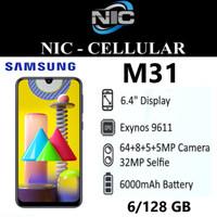 Samsung Galaxy M31 6/128 GB Garansi Resmi SEIN