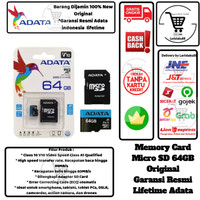 Adata Memory Card Micro SD 64GB SD Card 64 GB Class 10 Original