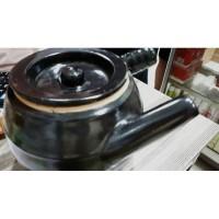 Deskripsi panci keramik masak obat herbal Panci ceramic untuk memasak
