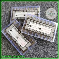 PAKET SPRING BAR WATCH STRAP PIN PEN STAINLESS JAM TANGAN ORI 1.50 MM
