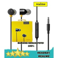 Headset realme buds in-Ear Earphone Magnetic Original - RMA101