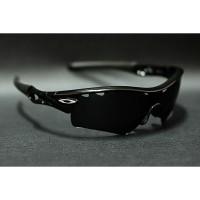 Original kacamata Oakley Radar seri shooting array jet black range