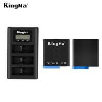 Dual Battery Kingma GoPro HERO 8 Black - Charger desktop Batre Kamera