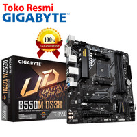 Gigabyte Motherboard Micro ATX Socket AM4 4 x DDR4 DIMM (B550M DS3H)