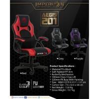 Kursi Gaming Imperion Aegis 201 Professional Gaming Chair - Ungu