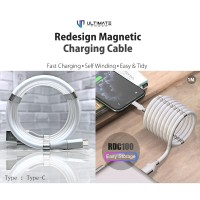 Ultimate Redesign Magnetic Cable Self Winding Type C 1M RDC100