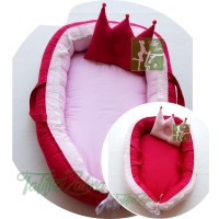 Babynest kasur bayi nest renda embos kado lahiran murah terbaik