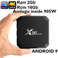 TV BOX X96 Mini 4K Ram 2GB ROM 16GB Android Nougat