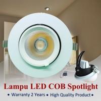 LAMPU KEONG COB SPOTLIGHT DOWNLIGHT NOSE LIGHT 10W/15W/25W ADJUSTABLE