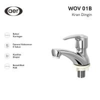 AER Kran Wastafel Kuningan / Brass Basin Faucet WOV 01B