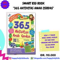 BUKU ANAK-SMART BIG BOOK 365 AKTIVITAS ANAK CERDAS