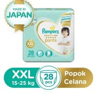 pampers premium care pants celana xxl 28 xxl28