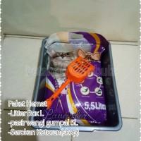 Paket pasir kucing (KHUSUS GRAB dan GOJEK)