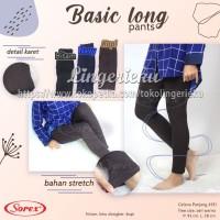 Celana Panjang Wanita Warna Hitam Sorex 4131