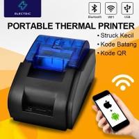 POS PRINTER ELECTRIC JK-58H 58MM KERTAS THERMAL KASIR(USB+BLUETOOTH)