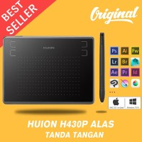 HUION H430P Digital USB Signature Drawing Tablet OSU With Free Pen