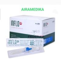 Jarum Infus Inflo iv Catheter 22 G x 25 mm Onemed