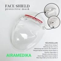 APD Face Shield 3D / Face Mask / Google Mask / Pelindung Wajah/Masker