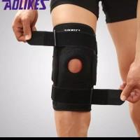 decker lutut aolikes hitam / penahan lutut/ pelindung lutut