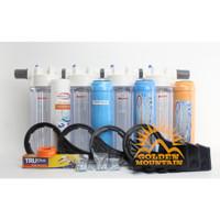 "PAKET FILTER AIR BESI + RESIN 4 TAHAP - NANOTEC CLEAR 10"" 3/4"" - LKP"