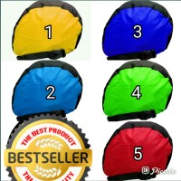 sarung helm cover helm anti air/ mantel helm waterproof / tas helem