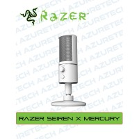 Razer Seiren X Mercury Edition Condenser Streaming Microphone Mic