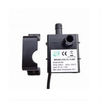 Pompa Air Mini USB Brushless Water Oil Pump Submersible 5V-QR30B-Black