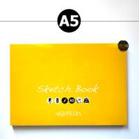 ARTEMEDIA SIMPLE SKETCHBOOK A5 / Buku Sketsa Buku Gambar Kertas Lukis