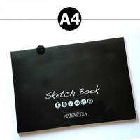 ARTEMEDIA SIMPLE SKETCHBOOK A4 / Buku Sketsa Buku Gambar Kertas Lukis