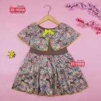 Dress Irene size 1-2 Tahun / Dres Anak Perempuan Motif Batik Murah