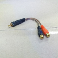 kabel audio RCA Y Splitter male To female