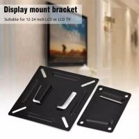 Pemegang stand Bracket TV 14 - 22 Inci LCD Monitor LED TV Layar Datar