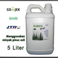 Karbol Wangi Pinus (Untuk Disinfektan, Pel Lantai, dll) 5 Liter
