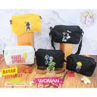 Sling Bag Wanita Remaja | Pocki | Tas Slempang Kecil Wanita