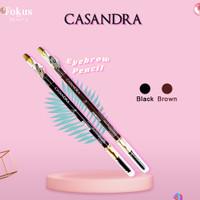 Casandra Eyebrow Pencil - Brown