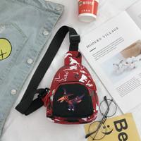 Tas Selempang Anak Dinosaurus |3 Warna (Sling Bag) - Merah