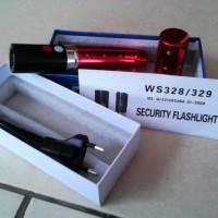 PREMIUM Stungun Lipstik / Senjata Kejut Setrum Listrik Senter Stun Gun