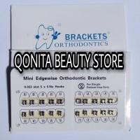 Bracket Amplop ORTHODONTIC untuk Behel Fashion atau Behel PERMANEN