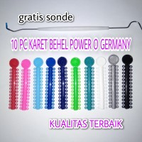 Karet Behel Power O GERMANY HIGH QUALITY Isi 10pcs Free Sonde