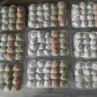 Mochi Perpack Isi 20 Pcs (Aneka Rasa Pandan,Pisang Ambon dan Kacang)