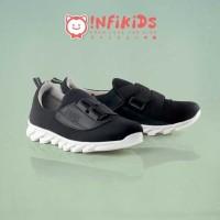 Sepatu Sneakers Slip On Anak Warna Hitam - 31, Hitam