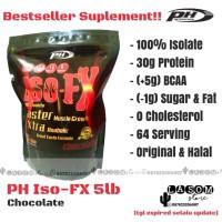 PH Iso-FX 100% Isolate Fat Burner Suplemen Pembakar Lemak Otot Diet