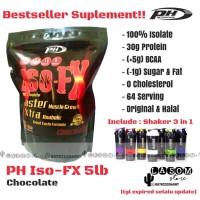 PH ISO-FX 100% Isolate / Pro Hybrid / 5 lbs / 5lb / 5lbs / Free Shaker