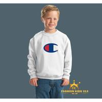 JAKET SWEATER ANAK CHAMPION PUTIH 333 - JAY KIDS CLOTHING 313