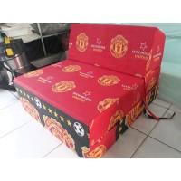 Kasur sofa lipat standar busa inoac uk 66x186x12cm anti kempes motif
